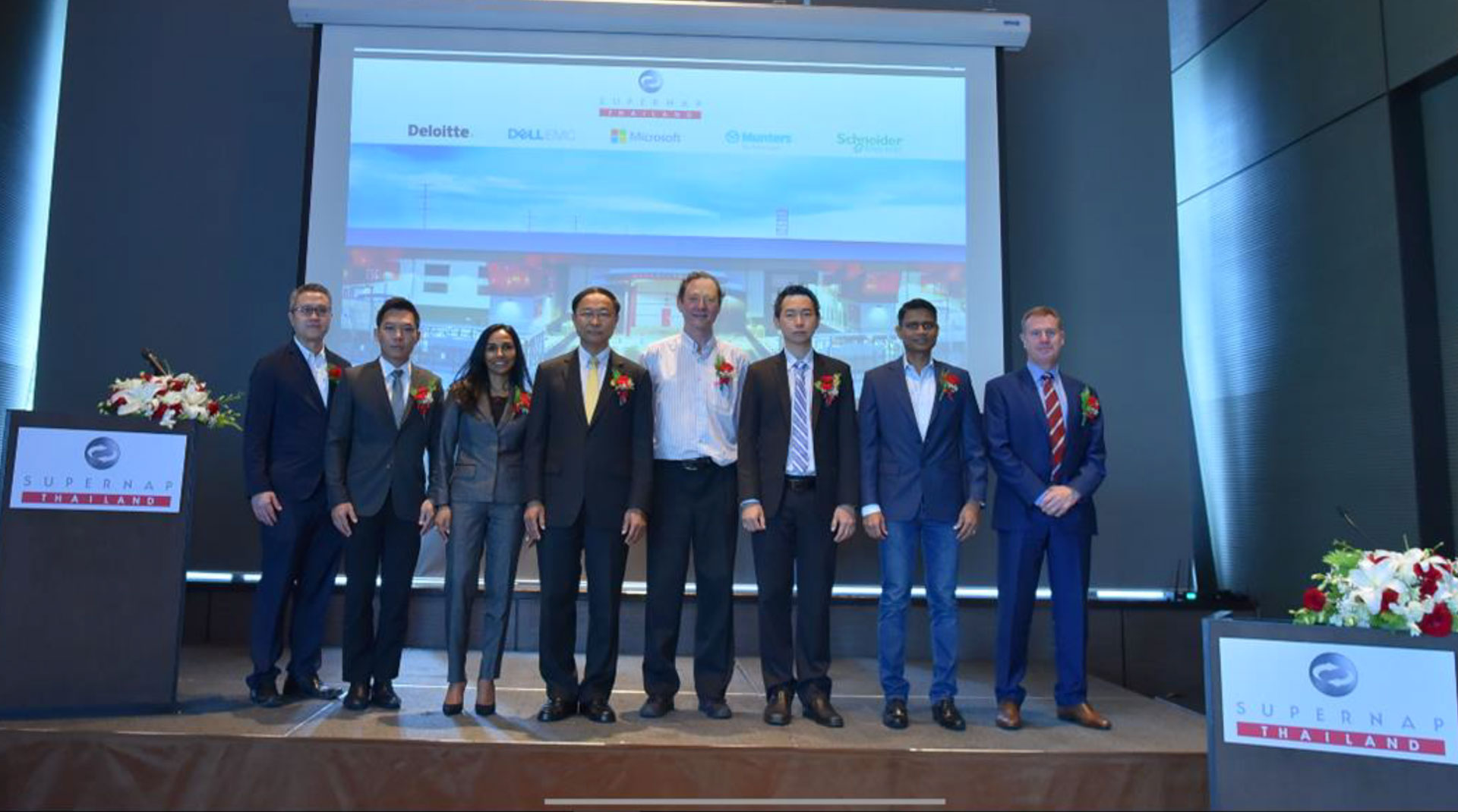 SUPERNAP (Thailand) and Affiliate Partners aim for Data Security in Digital Transformation Economy