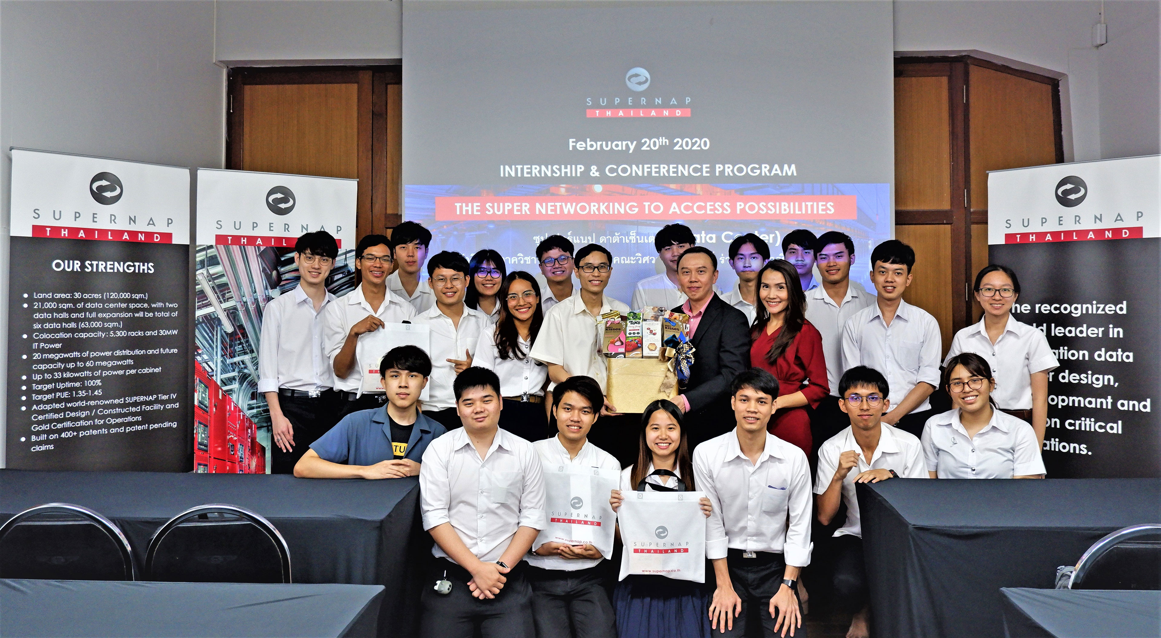 SUPERNAP (Thailand) announces a new CSR initiative, aiming at building competence IT workforce to support Thailand 4.0 policy